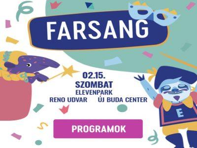 Farsangi mulatság az Elevenparkban