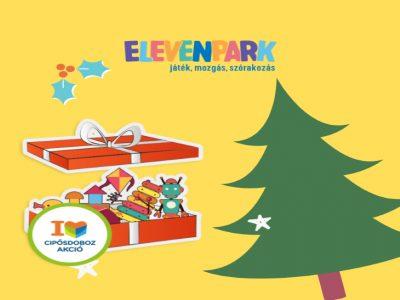 Adni jó! Karácsonyi Cipősdoboz Akció az Elevenparkban