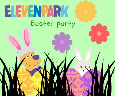 Easter party in Elevenpark